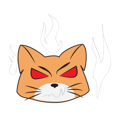 Awesome Face cats emoji messages sticker-1