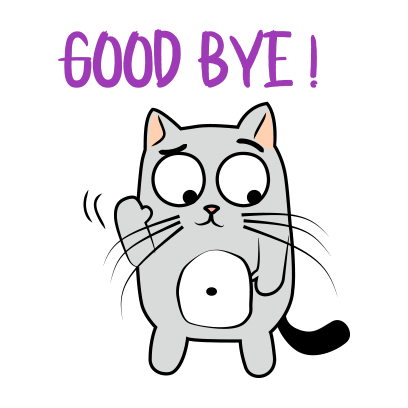 Cute Cats emoji for iMessage messages sticker-5