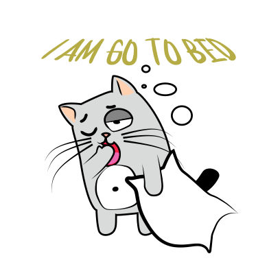 Cute Cats emoji for iMessage messages sticker-3