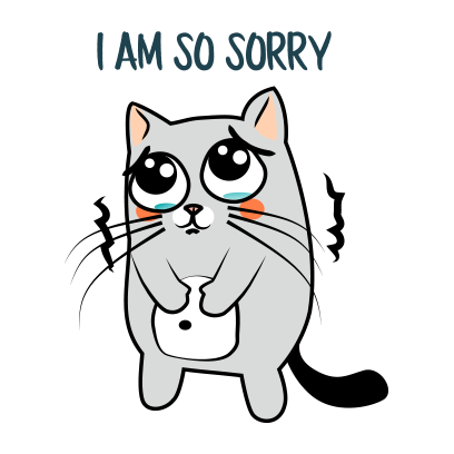 Cute Cats emoji for iMessage messages sticker-1
