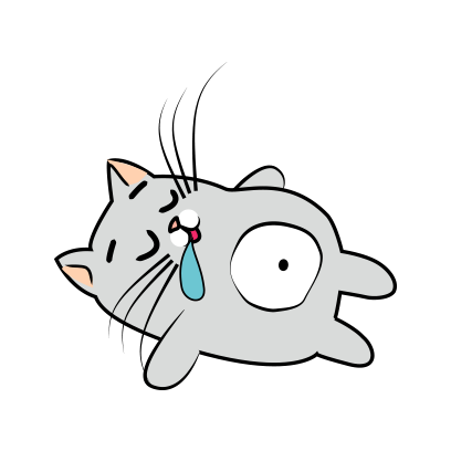 Cute Cats emoji for iMessage messages sticker-4