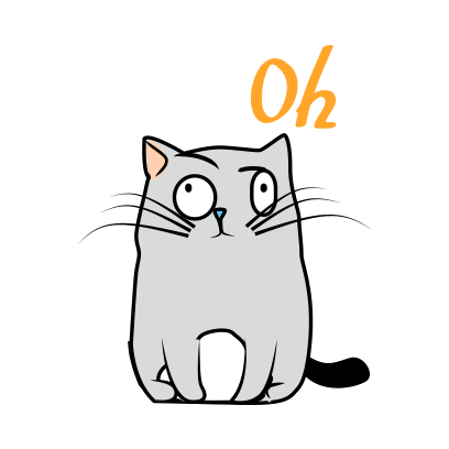 Cute Cats emoji for iMessage messages sticker-9