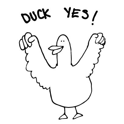 AutoCorrect Ducks! Stickers messages sticker-3