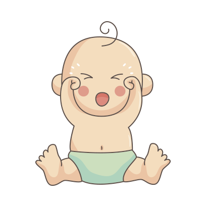 Funny Baby emoji messages sticker-3