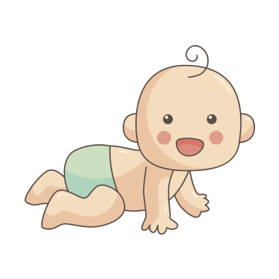 Funny Baby emoji messages sticker-4