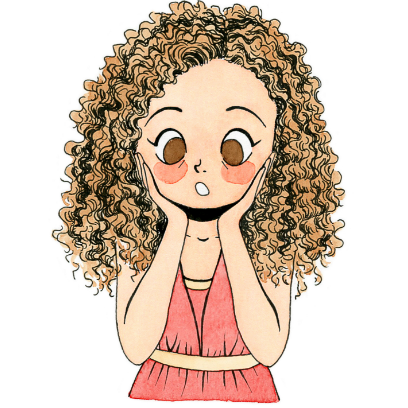 CurlyGirlMoji messages sticker-1