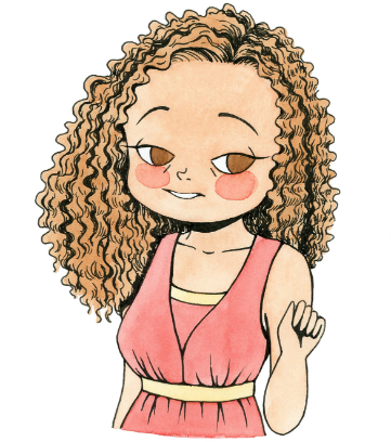 CurlyGirlMoji messages sticker-2