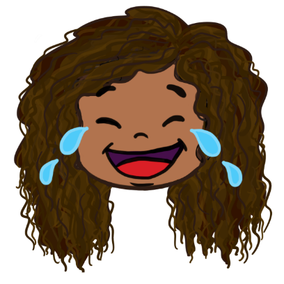 CurlyGirlMoji messages sticker-7