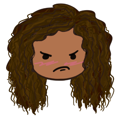 CurlyGirlMoji messages sticker-9