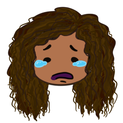 CurlyGirlMoji messages sticker-8