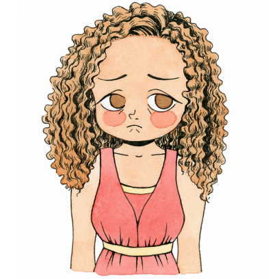 CurlyGirlMoji messages sticker-4