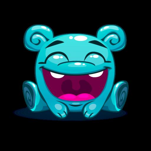 Cute Kawaii Emoji messages sticker-10