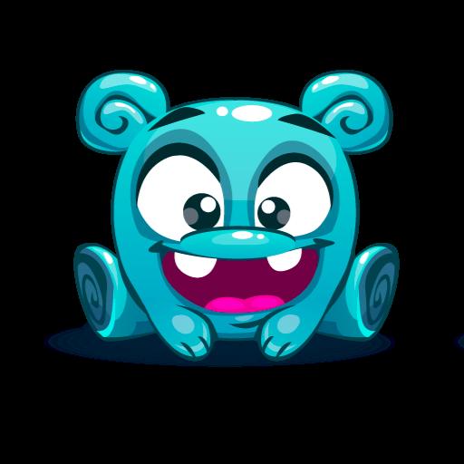 Cute Kawaii Emoji messages sticker-1