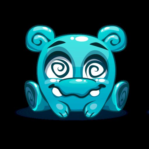 Cute Kawaii Emoji messages sticker-4