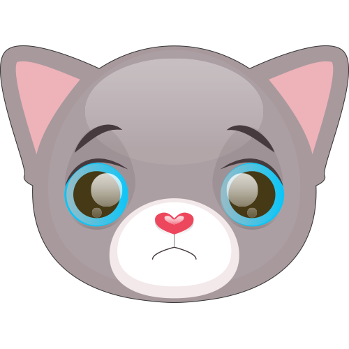 Cute Cat and Kitten Emoji messages sticker-2