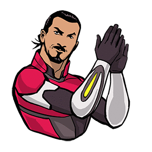 Zlatan Legends Stickers messages sticker-0