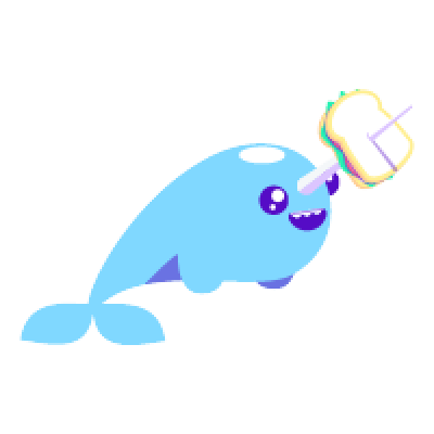 Narwhal Life messages sticker-3