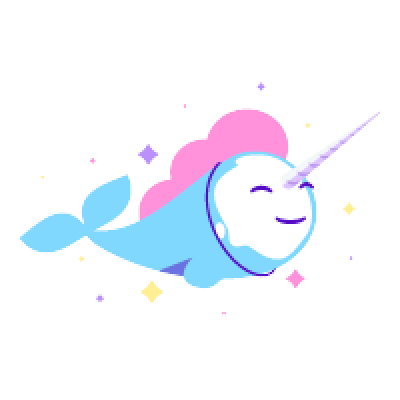 Narwhal Life messages sticker-2
