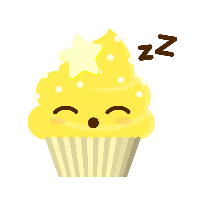 Cupcake Life messages sticker-10