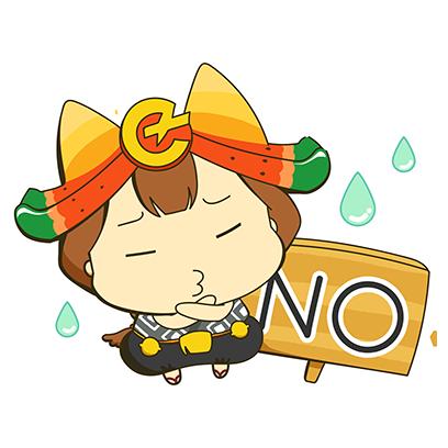 岩手県滝沢市公式キャラクターちゃぐぽん,CHAGPON messages sticker-3