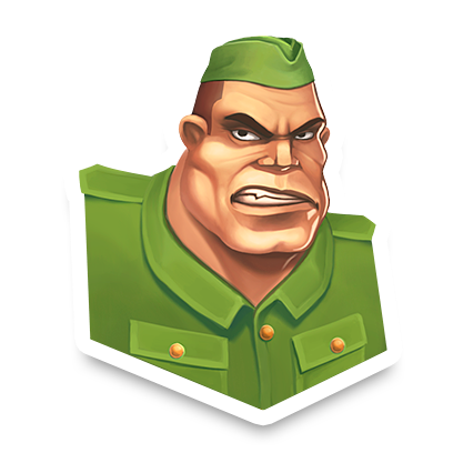 World War Heroes: FPS war game messages sticker-3