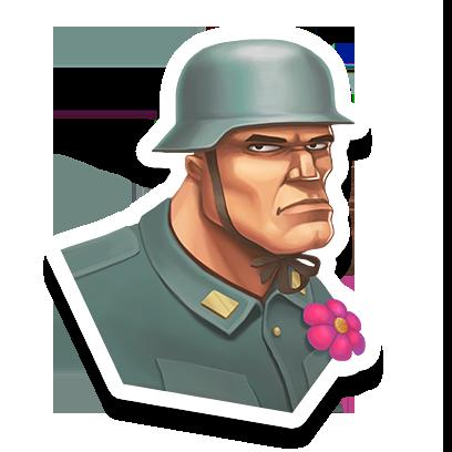 World War Heroes: FPS war game messages sticker-1