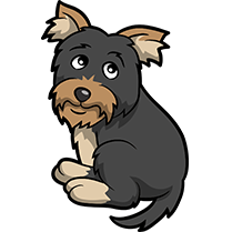 YorkieMoji - Yorkie Emoji & Sticker messages sticker-8