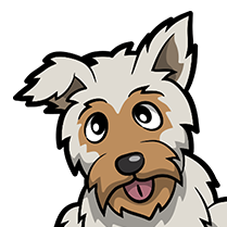 YorkieMoji - Yorkie Emoji & Sticker messages sticker-10