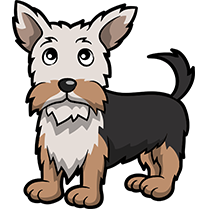 YorkieMoji - Yorkie Emoji & Sticker messages sticker-0
