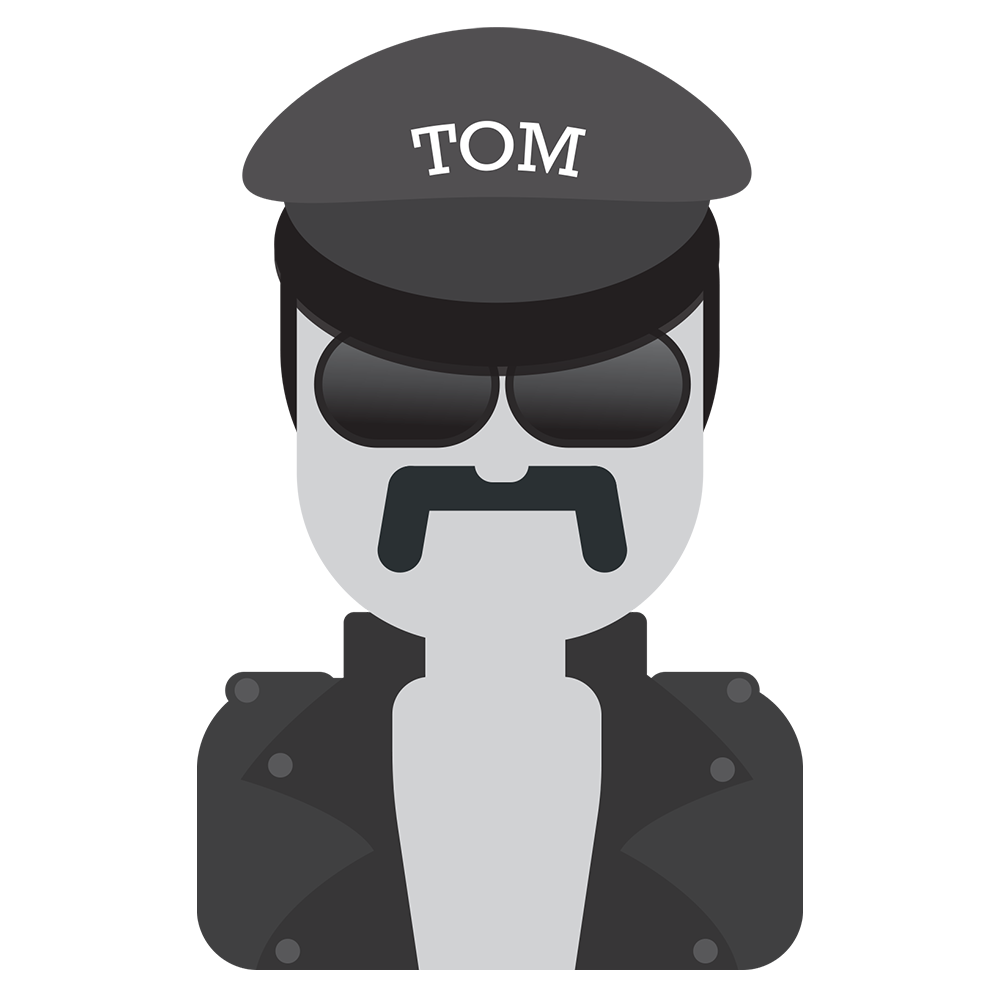 Tom of Finland messages sticker-0