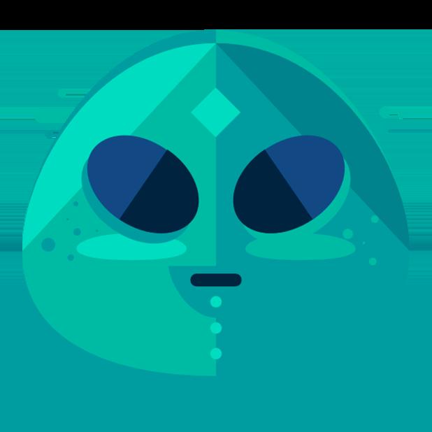 Flat Emoji Stickers Pack messages sticker-0