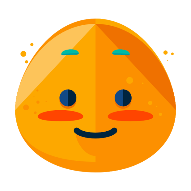 Flat Emoji Stickers Pack messages sticker-9