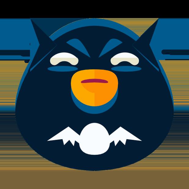 Flat Emoji Stickers Pack messages sticker-7