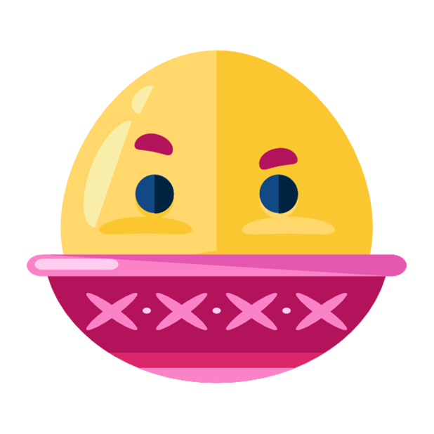 Flat Emoji Stickers Pack messages sticker-10