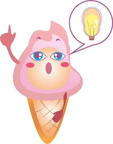 Ice cream - Cute stickers messages sticker-3
