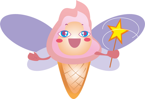 Ice cream - Cute stickers messages sticker-8