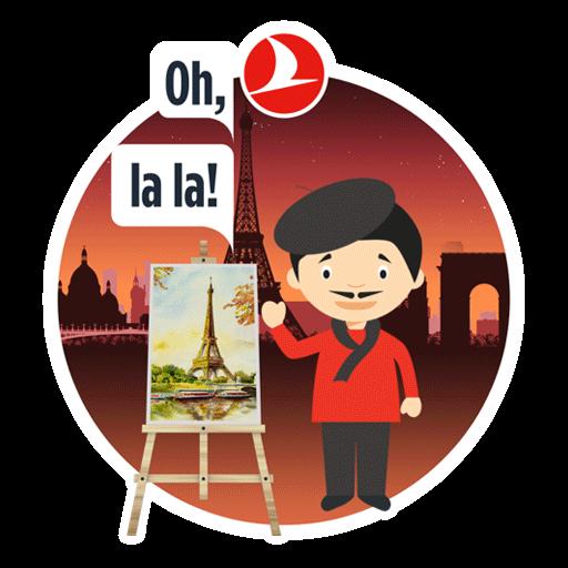 Turkish Airlines: Book Flights messages sticker-7
