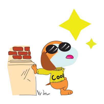 Puppy love emoji stickers messages sticker-10