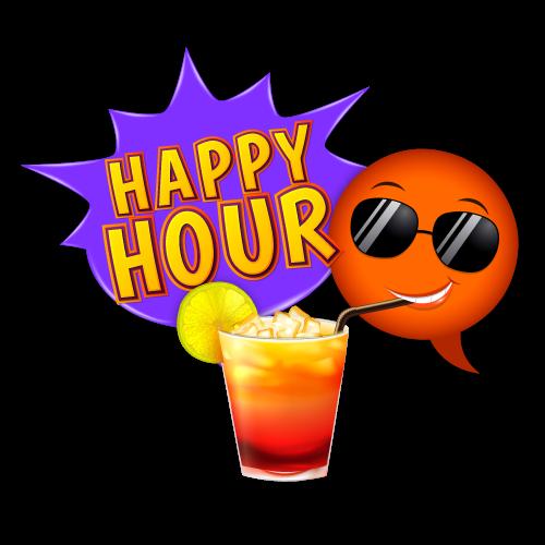 Bubblelingo Happy Hour messages sticker-10