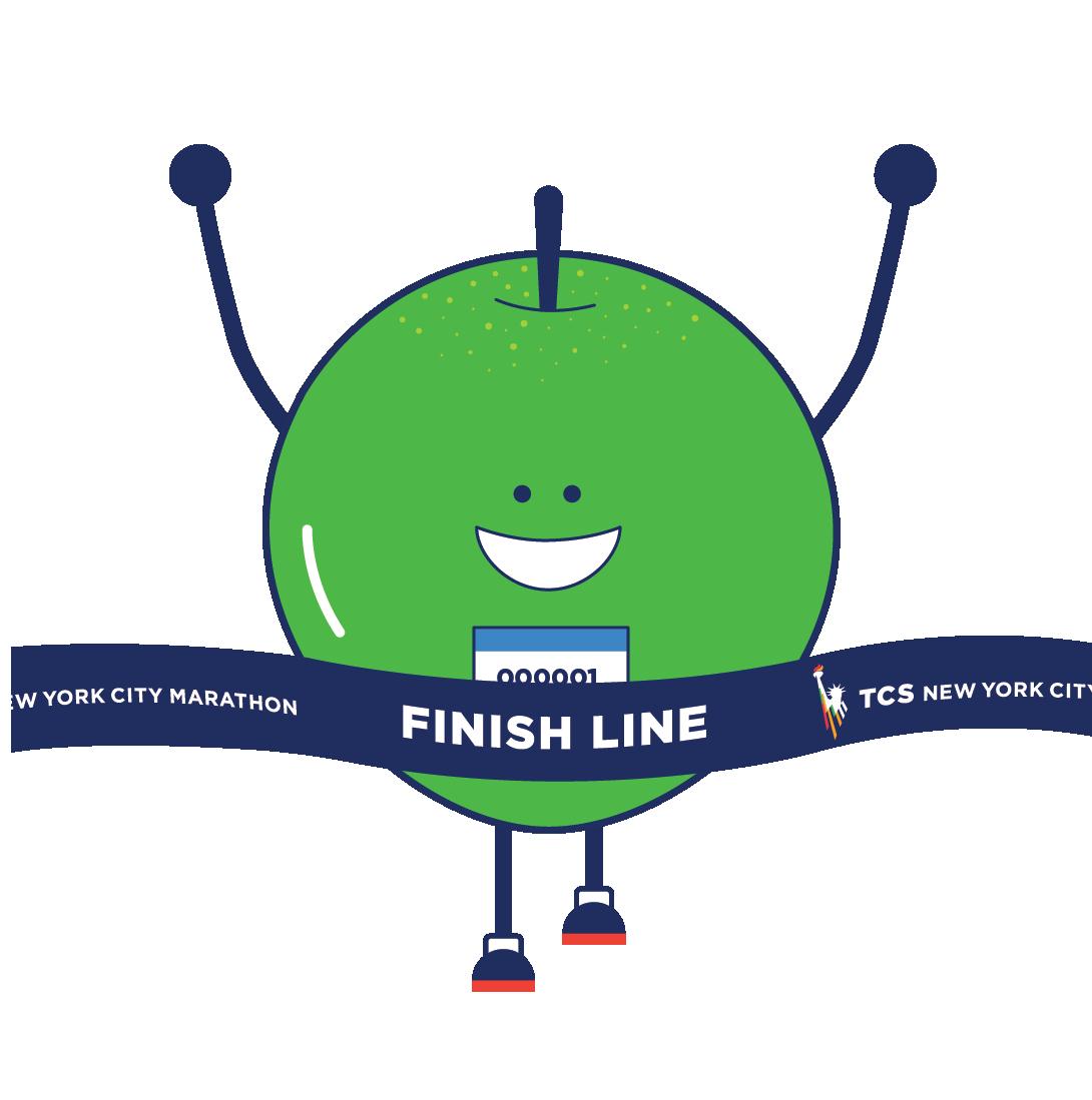 TCS NYC Marathon Sticker Pack messages sticker-4