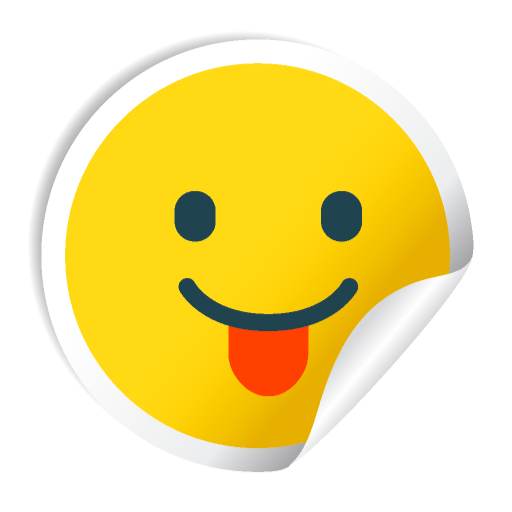 Cute Smile Stickers messages sticker-2