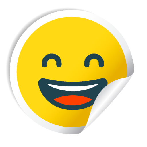 Cute Smile Stickers messages sticker-0
