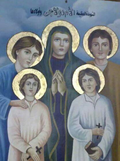 Coptic Saints Stickers messages sticker-4