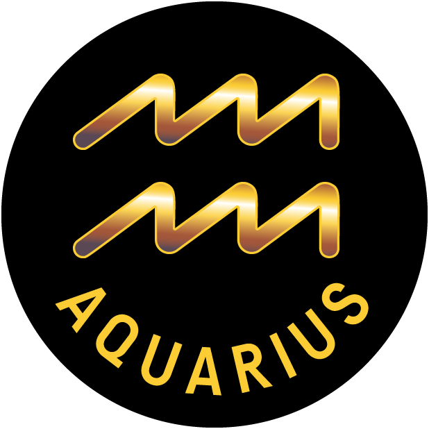AQUARIUS Stickers messages sticker-0