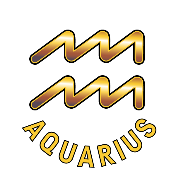 AQUARIUS Stickers messages sticker-6