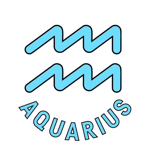 AQUARIUS Stickers messages sticker-10