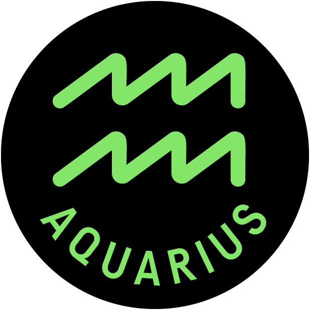 AQUARIUS Stickers messages sticker-2