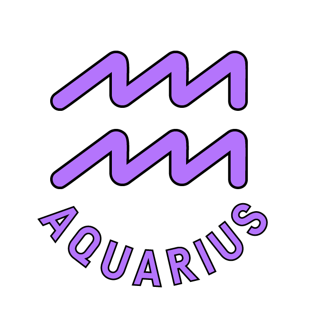 AQUARIUS Stickers messages sticker-7