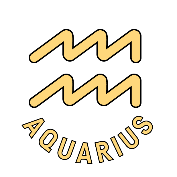 AQUARIUS Stickers messages sticker-9