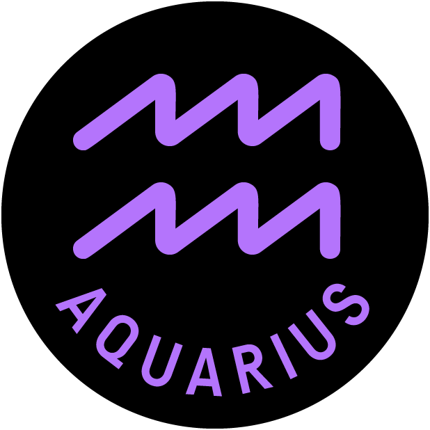 AQUARIUS Stickers messages sticker-1